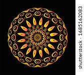 mandala graphic design for art  ... | Shutterstock .eps vector #1685162083