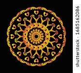 mandala graphic design for art  ... | Shutterstock .eps vector #1685162086