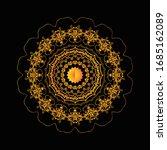 mandala graphic design for art  ... | Shutterstock .eps vector #1685162089