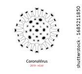coronavirus 2019 ncov. corona...   Shutterstock .eps vector #1685211850