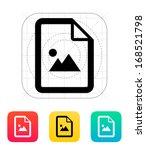 photo file icon. vector...