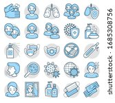 A Set Of Icons Related To The...