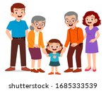 happy cute old man and woman... | Shutterstock .eps vector #1685333539