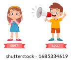 cute example of opposite word...   Shutterstock .eps vector #1685334619