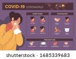 coronavirus  covid 19 or 2019... | Shutterstock .eps vector #1685339683