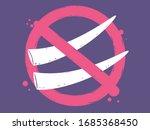 illustration of ivory tusks of...   Shutterstock .eps vector #1685368450