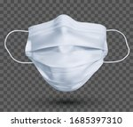 protective face mask or medical ... | Shutterstock .eps vector #1685397310
