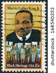 usa   circa 1979  postage stamp ... | Shutterstock . vector #168540353