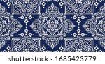 seamless pattern based on... | Shutterstock .eps vector #1685423779