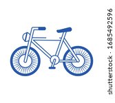 bicycle vehicle transport... | Shutterstock .eps vector #1685492596