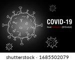 covid 19 ncp. novel coronavirus ... | Shutterstock .eps vector #1685502079