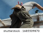 construction worker repairing... | Shutterstock . vector #1685509870
