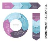 process chart module. vector... | Shutterstock .eps vector #168554816