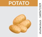 Potatoes Vector Illustration....
