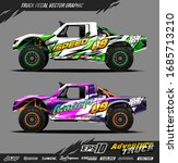 truck wrap graphic design... | Shutterstock .eps vector #1685713210