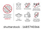 protect yourself tips from... | Shutterstock .eps vector #1685740366