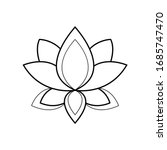 ethnic mandala ornament...   Shutterstock .eps vector #1685747470