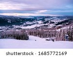 Hafjell  Norway. Aerial View O...
