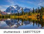 Mountain Lake  Mt. Shuksan ...
