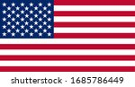 usa america united states flag... | Shutterstock .eps vector #1685786449