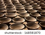 Collection Of Clay Pot In A Ro...