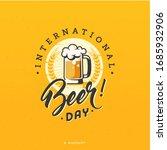 retro graphic of international... | Shutterstock .eps vector #1685932906