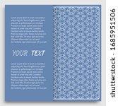 card  invitation  cover... | Shutterstock .eps vector #1685951506