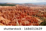 Scenic View Of Bryce Canyon...