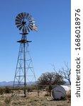 Desert Windmill  Sierra County...