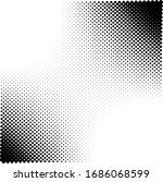 halftone texture abstract wave...   Shutterstock .eps vector #1686068599