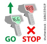 sanitary quarantine control... | Shutterstock .eps vector #1686155419