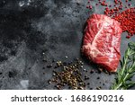 Flat Iron Steak  Raw Meat ...