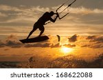 professional kiter makes the... | Shutterstock . vector #168622088