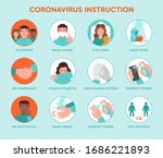 set icons infographic of... | Shutterstock .eps vector #1686221893
