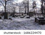 Jewish Old Devastated Graveyard ...