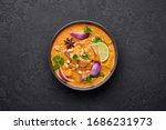 A Chicken Massaman Curry In...