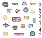 premium quality labels for... | Shutterstock . vector #1686236140