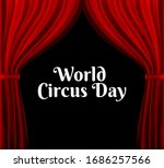 world circus day background...   Shutterstock .eps vector #1686257566