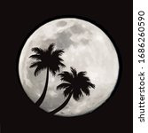 vector illustration of palm... | Shutterstock .eps vector #1686260590