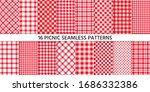 picnic tablecloth seamless... | Shutterstock .eps vector #1686332386