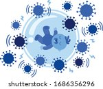 why children are better... | Shutterstock .eps vector #1686356296