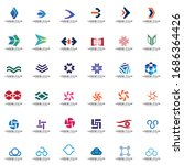 set of logo collection for... | Shutterstock .eps vector #1686364426