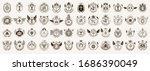 classic style emblems big set ... | Shutterstock .eps vector #1686390049