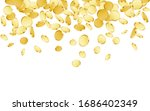 falling coins background.... | Shutterstock .eps vector #1686402349