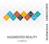 augmented reality trendy ui...