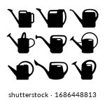 Watering Can Silhouettes On...