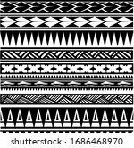 polynesian tribal art native... | Shutterstock .eps vector #1686468970