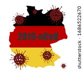 coronavirus in germany. the... | Shutterstock .eps vector #1686522670