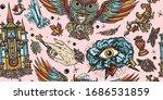 magic owl  holy grail  all...   Shutterstock .eps vector #1686531859