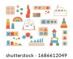 education logic toys for... | Shutterstock .eps vector #1686612049